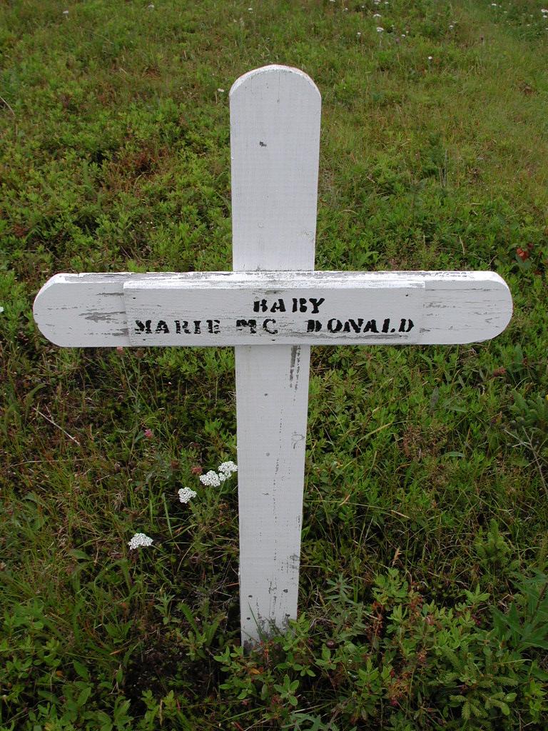 MCDONALD, Marie (xxxx) MCM01-7195