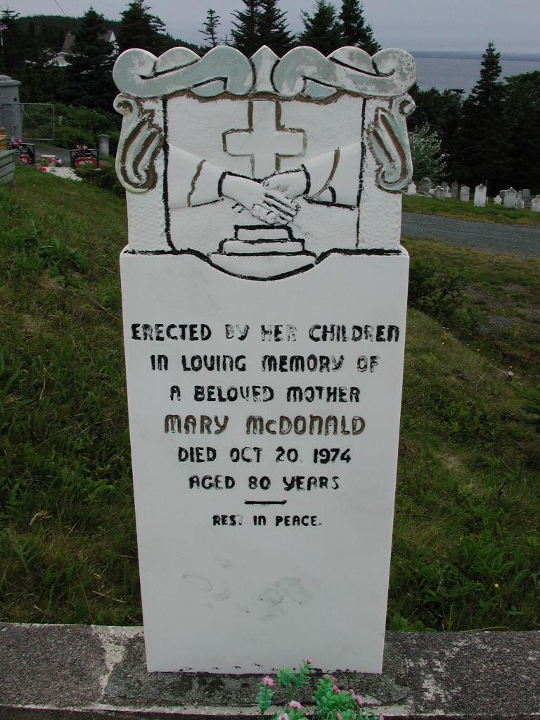 MCDONALD, Mary (1974) SJP01-7387