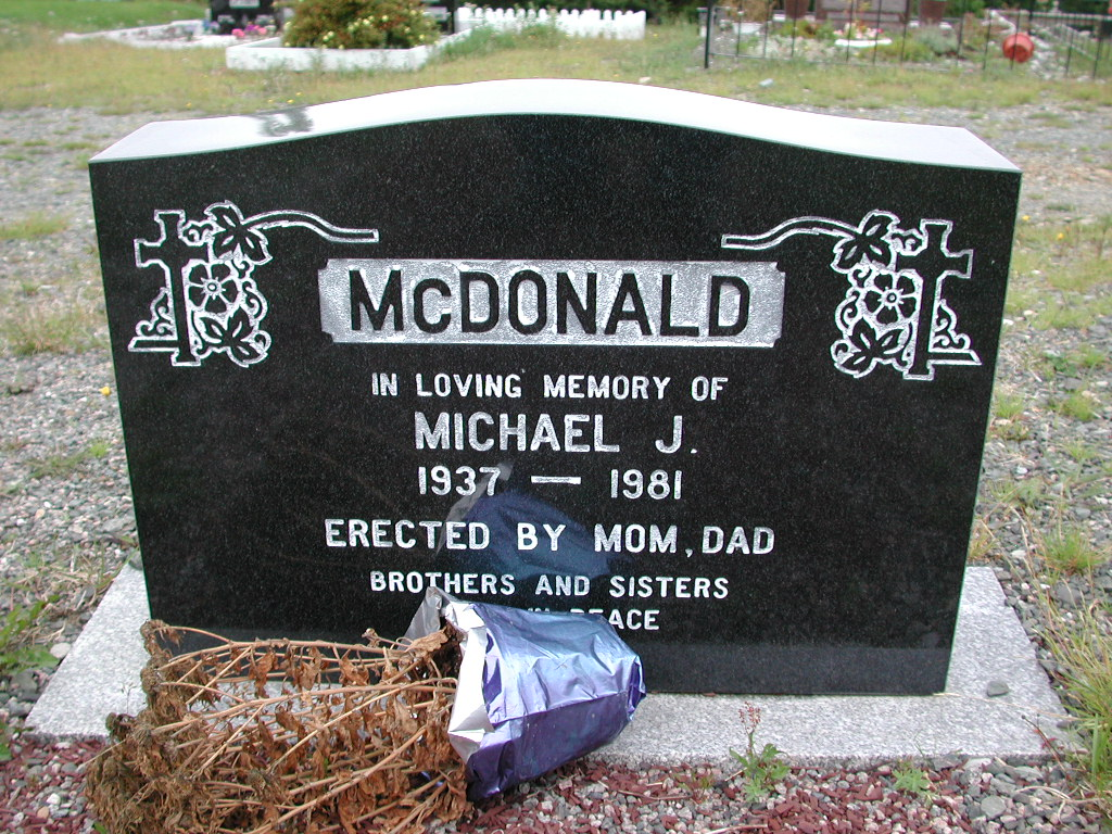 MCDONALD, Michael J (1981) MCM01-1616