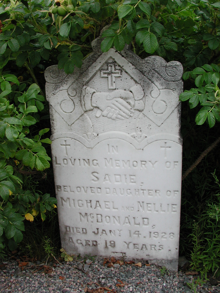 MCDONALD, Sadie (1928) SJP01-1666