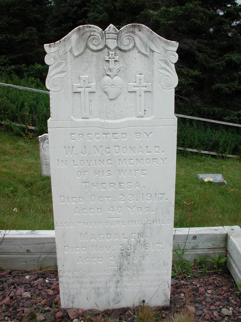 MCDONALD, Theresa (1917) & Magdalen (1917) SJP01-1816