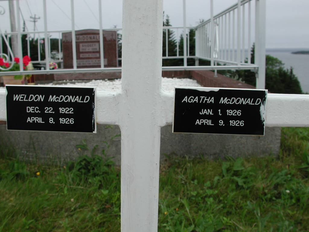 MCDONALD, Weldon (1926) & Agatha (1926) SJP01-7390