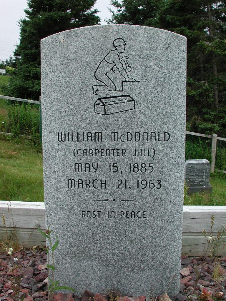 MCDONALD, William (1963) SJP01-1818