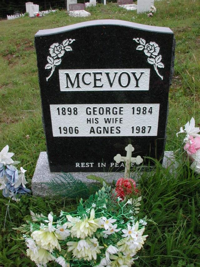 MCEVOY, George (1984) & Agnes (1987) ODN02-2044