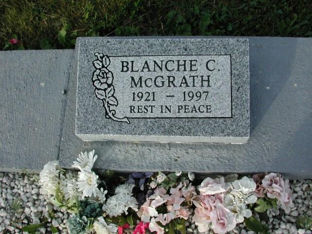MCGRATH, Blanche C (1997) STM03-3726
