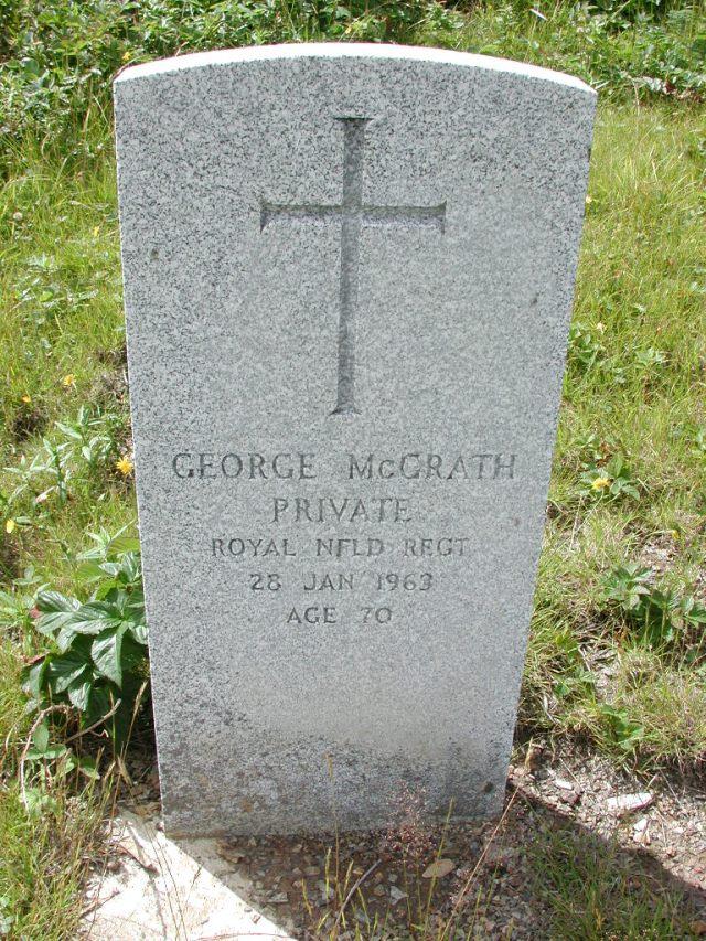 MCGRATH, George (1963) PLN01-3067