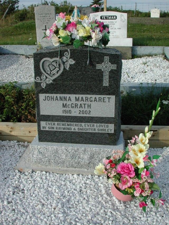 MCGRATH, Johanna Margaret (2002) STM03-3742