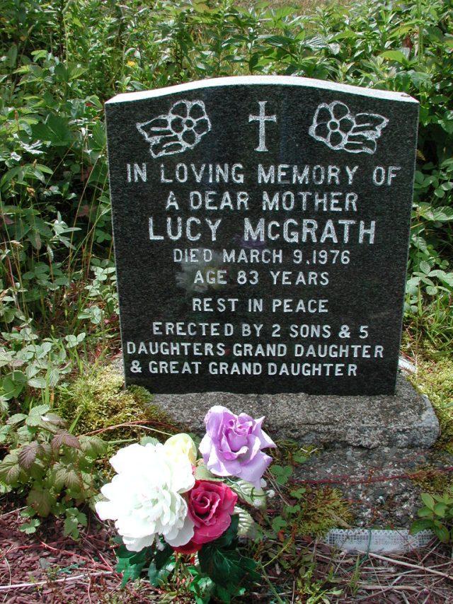 MCGRATH, Lucy (1976) PLN01-7628