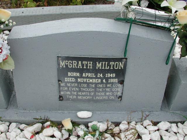 MCGRATH, Milton (1995) BRA01-3147
