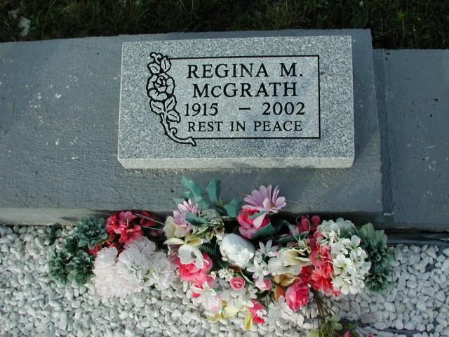 MCGRATH, Regina M (2002) STM03-3727