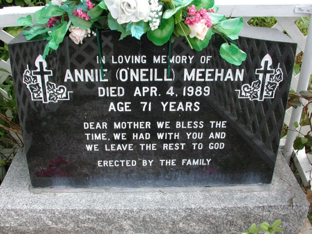 MEEHAN, Annie ONeill (1989) STM01-8282
