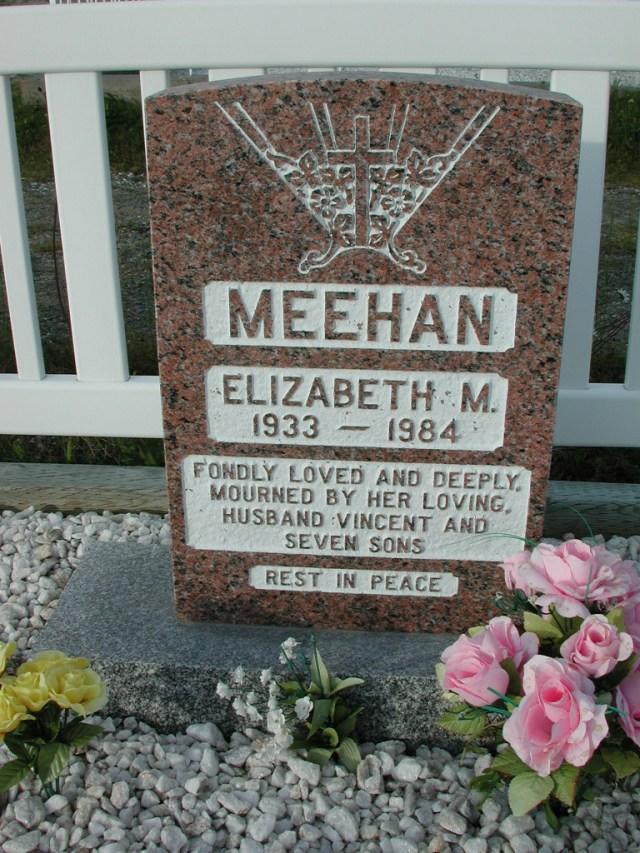 MEEHAN, Elizabeth M (1984) STM03-3707
