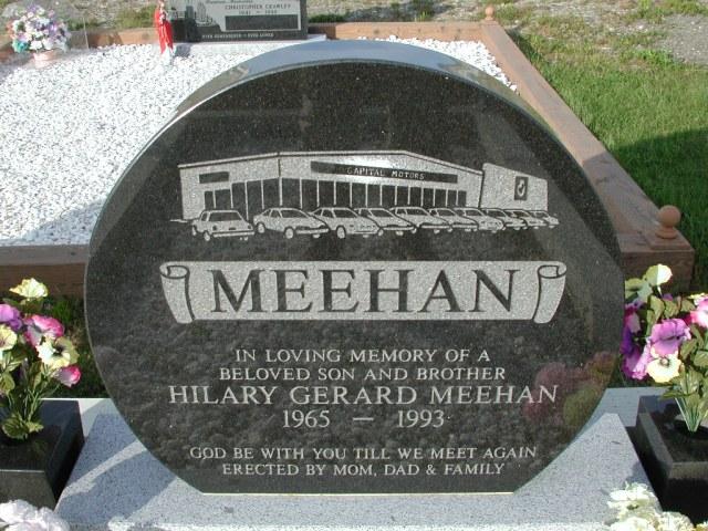 MEEHAN, Hilary Gerard (1993) STM03-9395