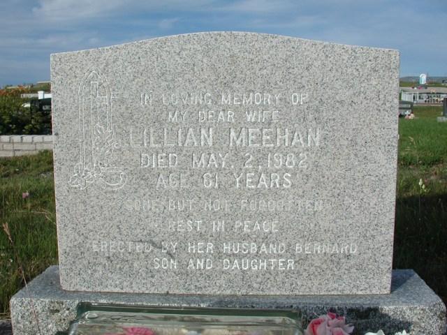 MEEHAN, Lillian (1982) STM03-3686