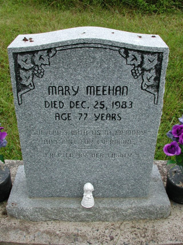MEEHAN, Mary (1983) STM01-8079