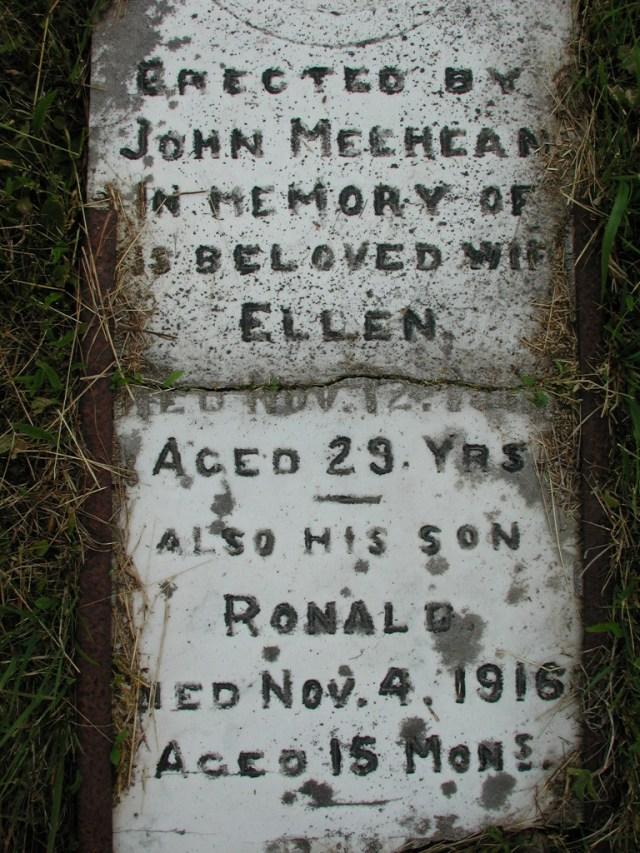 MEEHEAN, Ellen (191x) & Ronald (1916) STM01-2288