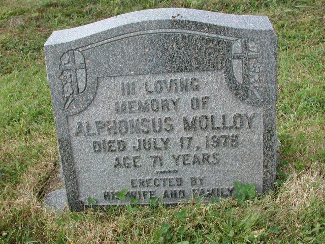 MOLLOY, Alphonsus (1978) SSH01-3270