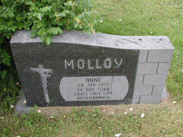 MOLLOY, Anne (1988) SSH01-8998