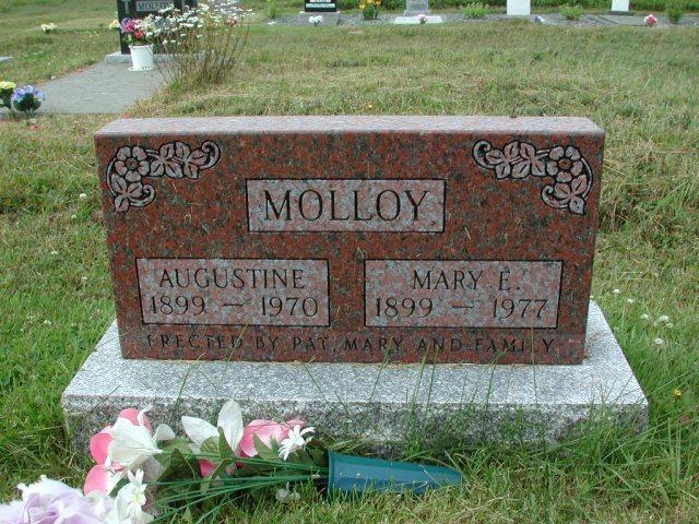 MOLLOY, Augustine (1970) & Mary E (1977) SSH01-3300