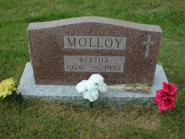 MOLLOY, Bertha (1997) SSH01-3312