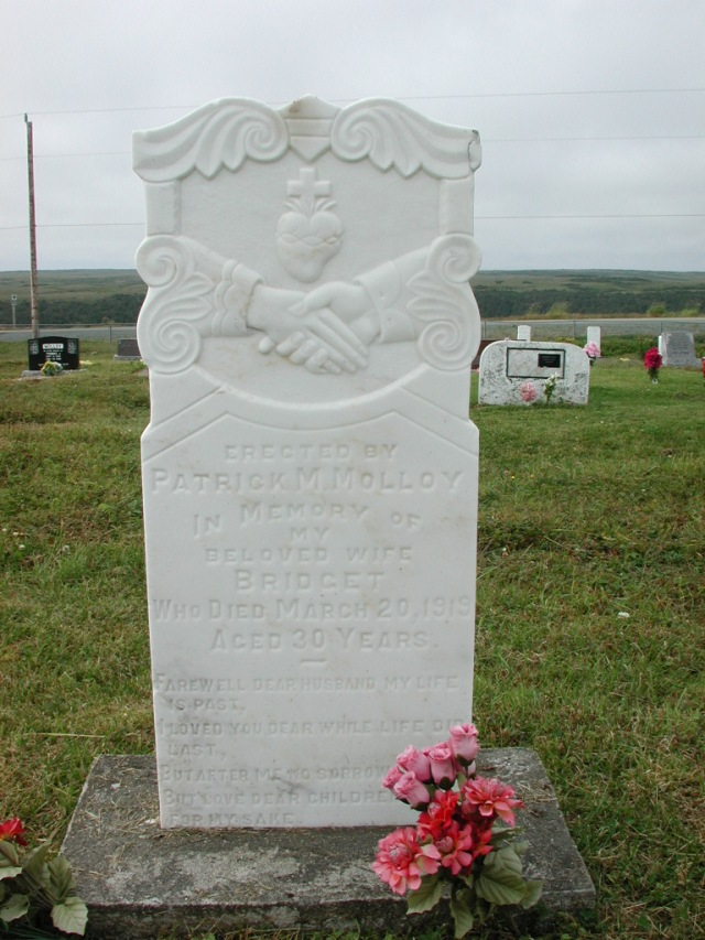 MOLLOY, Bridget (1919) SSH01-3306
