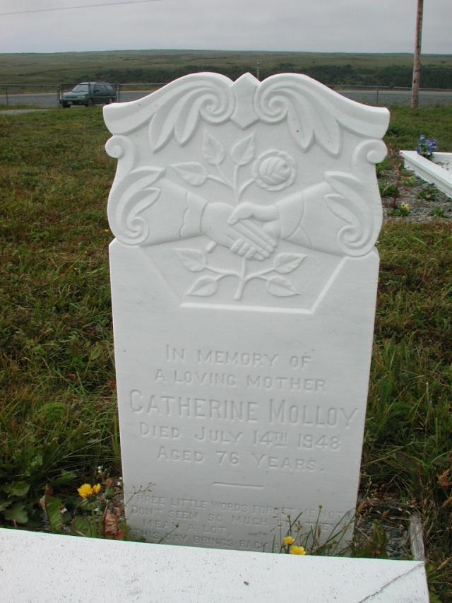 MOLLOY, Catherine (1948) SSH01-3294
