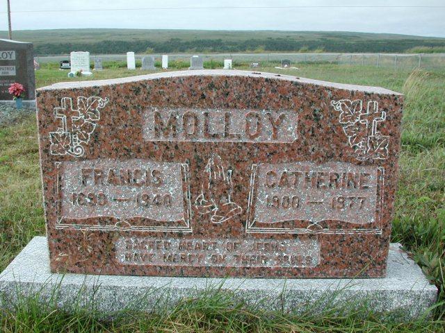 MOLLOY, Francis (1940) & Catherine (1977) SSH01-3309