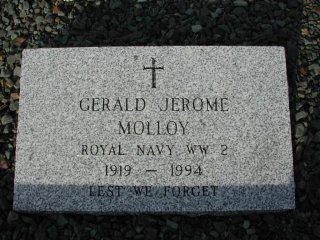 MOLLOY, Gerald Jerome (1994) STM03-9438