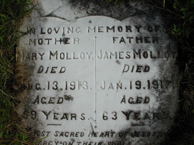 MOLLOY, James (1917) & Mary (1913) STM01-8182