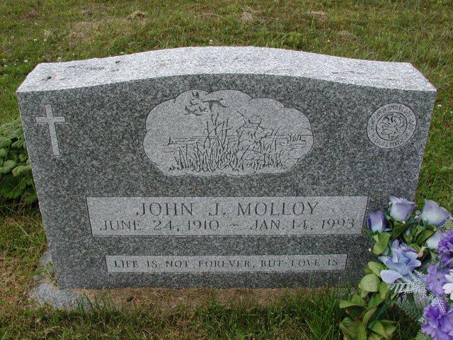 MOLLOY, John J (1993) SSH01-8999