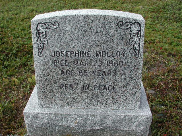 MOLLOY, Josephine (1980) SSH01-3283