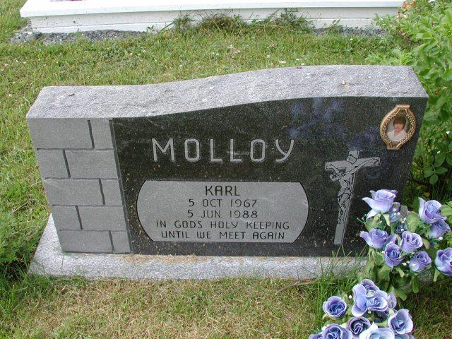 MOLLOY, Karl (1988) SSH01-8997