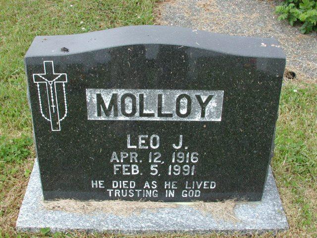 MOLLOY, Leo J (1991) SSH01-9024
