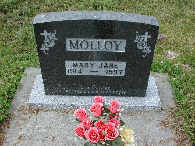 MOLLOY, Mary Jane (1997) SSH01-3286