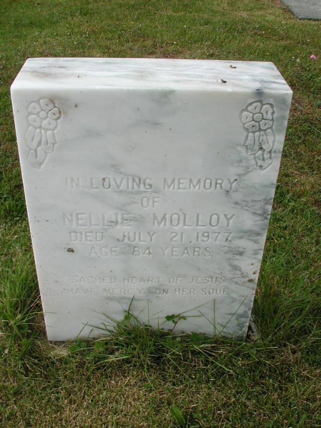 MOLLOY, Nellie (1977) SSH01-9027
