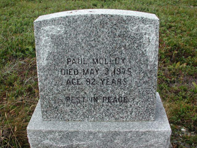 MOLLOY, Paul (1975) SSH01-3284