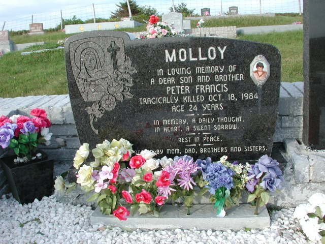 MOLLOY, Peter Francis (1984) STM03-3737