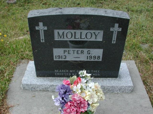 MOLLOY, Peter G (1998) SSH01-3285