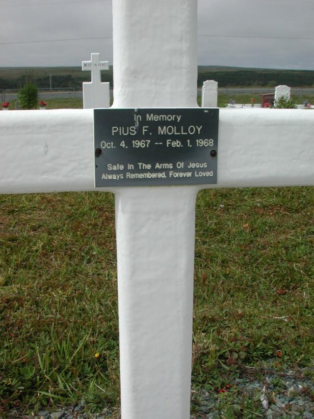 MOLLOY, Pius F (1968) SSH01-3303
