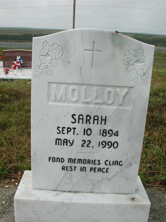 MOLLOY, Sarah (1990) SSH01-3292