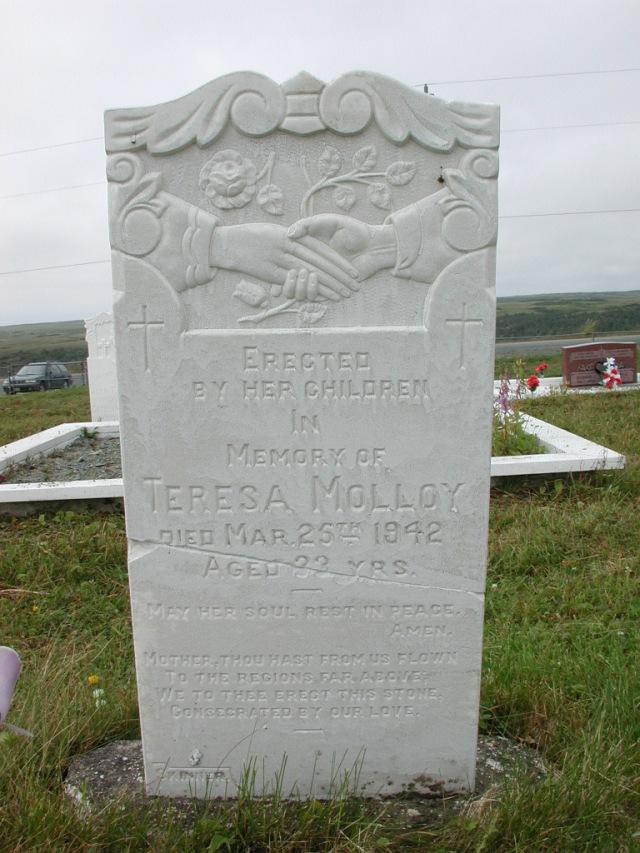 MOLLOY, Teresa (1942) SSH01-3298