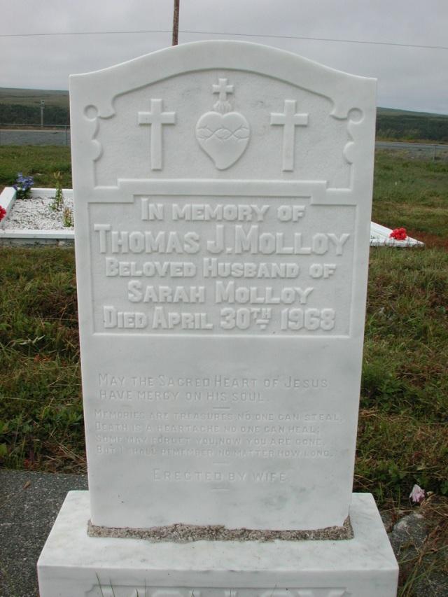 MOLLOY, Thomas J (1968) SSH01-3293