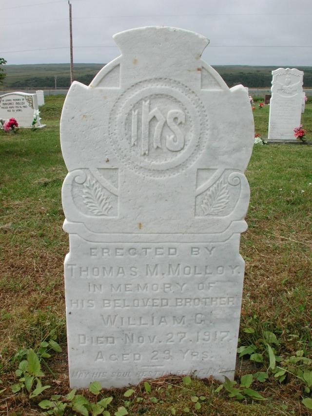 MOLLOY, William G (1917) SSH01-3310