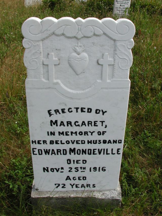MONDEVILLE, Edward (1916) STM01-8185