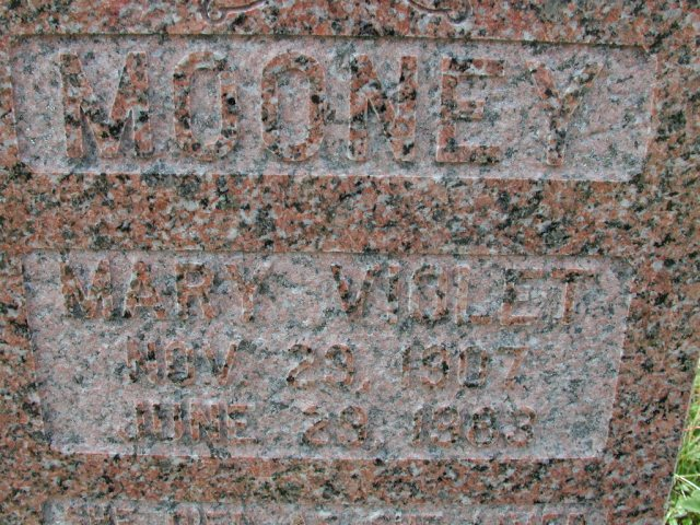 MOONEY, Mary Violet (1983) BRA01-3287