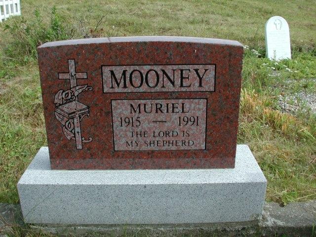 MOONEY, Muriel (1991) STM01-2447
