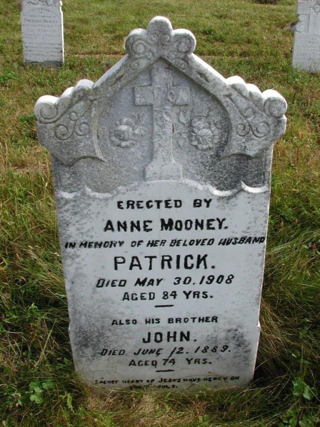 MOONEY, Patrick (1908) & John (1889) STM01-8204
