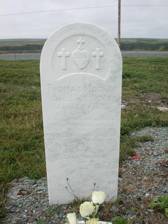 MOORES, Thomas (1968) SSH01-3271