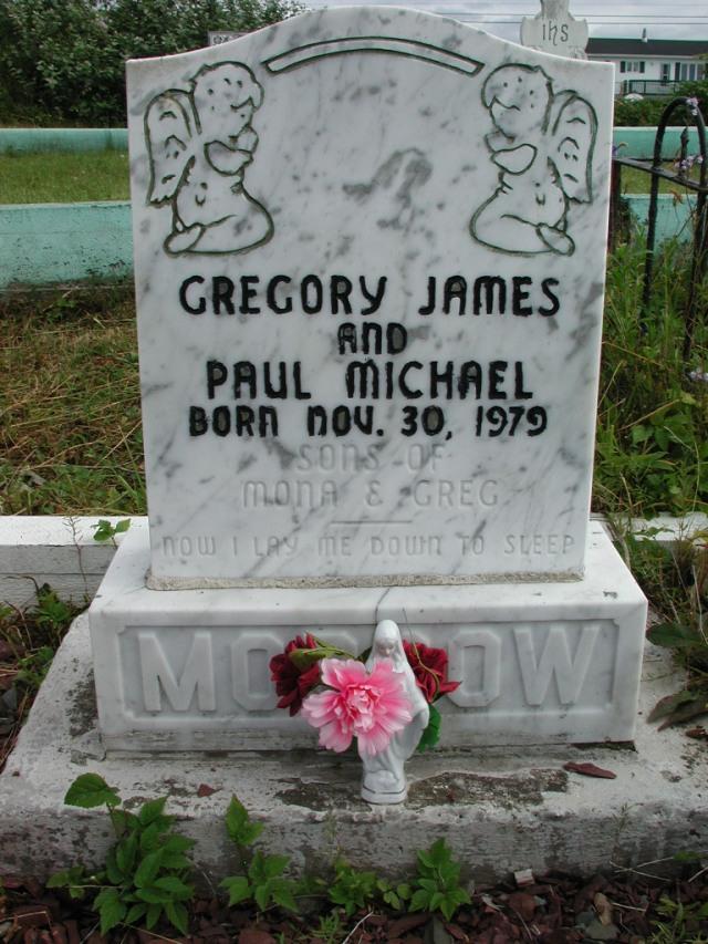 MORROW, Gregory James (1979) & Paul Michael STM01-2498