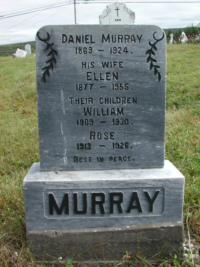 MURRAY, Daniel (1924) & Ellen & William & Rose STM01-2376